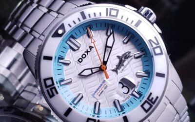 DOXA Chromometer Shark 300 潛水錶新色