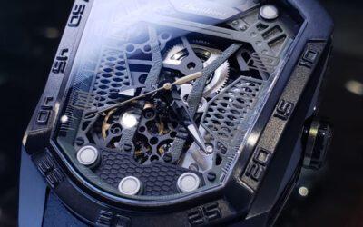 Phantoms盾牌形的全自動機械錶