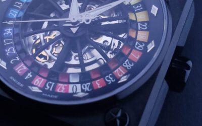 Romago Swiss 第三代幻彩及彩虹輪盤錶