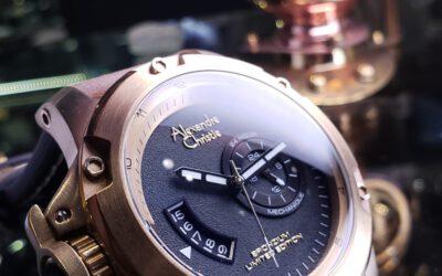 Alexandre Christie 青銅機械錶