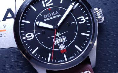 瑞士製造DOXA – COSC天文台認證 Pilot手錶
