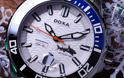 DOXA天文台認證300米深潛機械錶