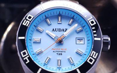 Audaz 潛水鋼王氣燈機械錶